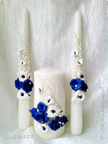 Бело-синий - чарующий и магический цвет! Свадьба, оформленная в бело-синих тонах, получается поистине волшебной! фото 4