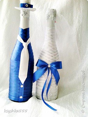 Бело-синий - чарующий и магический цвет! Свадьба, оформленная в бело-синих тонах, получается поистине волшебной! фото 5