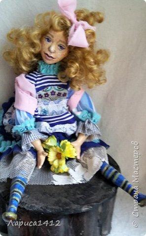 Всем Привет!Показываю новую куколку.Моя мечта о море. фото 4
