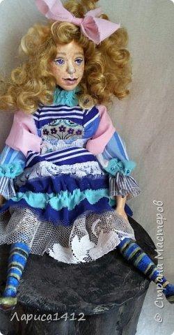Всем Привет!Показываю новую куколку.Моя мечта о море. фото 3