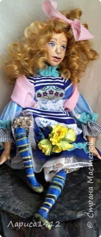 Всем Привет!Показываю новую куколку.Моя мечта о море. фото 2