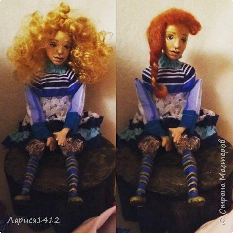 Всем Привет!Показываю новую куколку.Моя мечта о море. фото 7