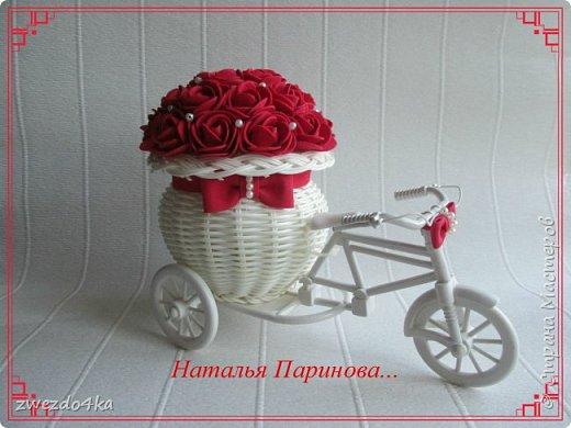 Доброго времени суток всем жителям СМ.. Я к вам со своими новыми поделочками))  Розочки сделаны из фоамирана.   фото 1