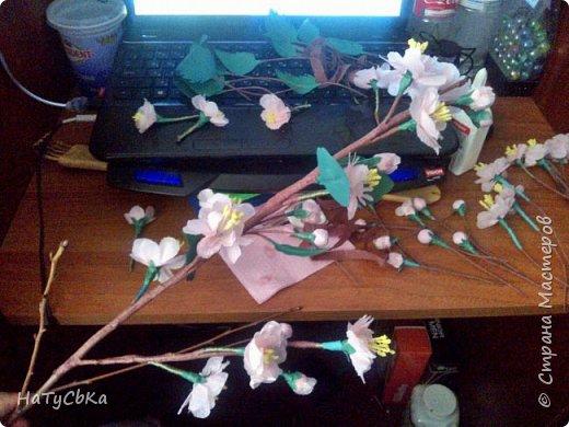 Эту веточку я делала на 8е марта родственнице)  фото 6