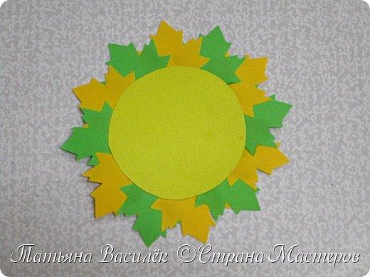 Это Осеннее Солнышко мы с детьми сделали в подарок родителям на Праздник Осени:) фото 4