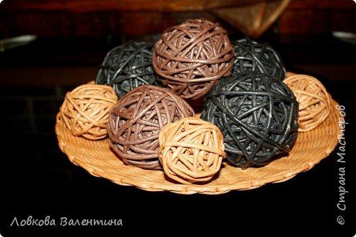 Тарелка с шарами)