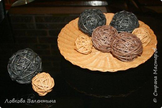 Тарелка с шарами) фото 2