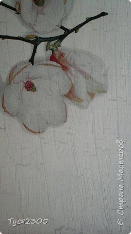 Кракелюр на пва. Белым по белому. фото 1