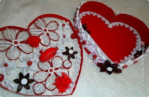 Шкатулка -сердце фото 2