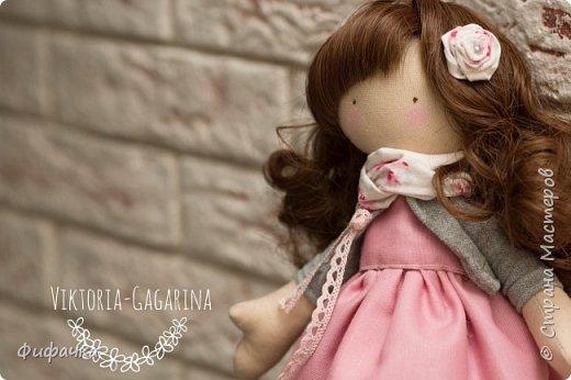 Текстильная куколка фото 1