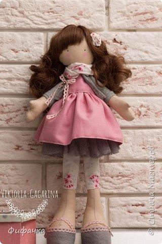 Текстильная куколка фото 2