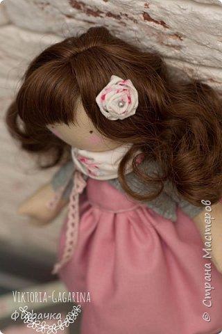 Текстильная куколка фото 3