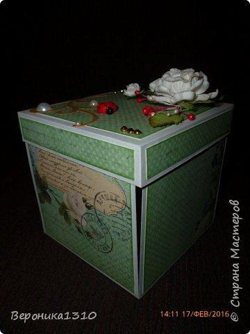 Вот и у меня появилось желание сделать коробочки с сюрпризом.  фото 13