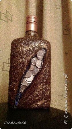 Очень понравилось декорировать бутылочку с молнией. фото 2