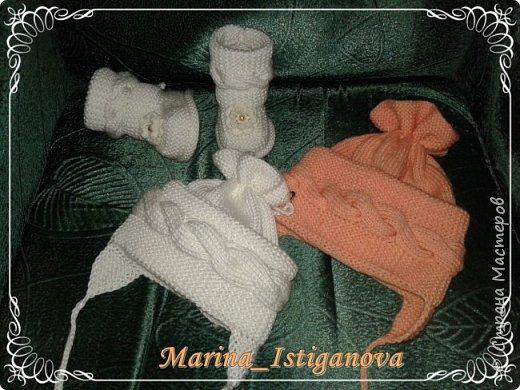 Две шапульки для лапулек фото 6