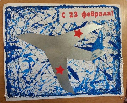 Эти открытки к празднику делали пятилетние дети. фото 2