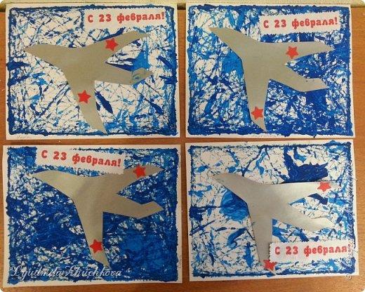 Эти открытки к празднику делали пятилетние дети. фото 1