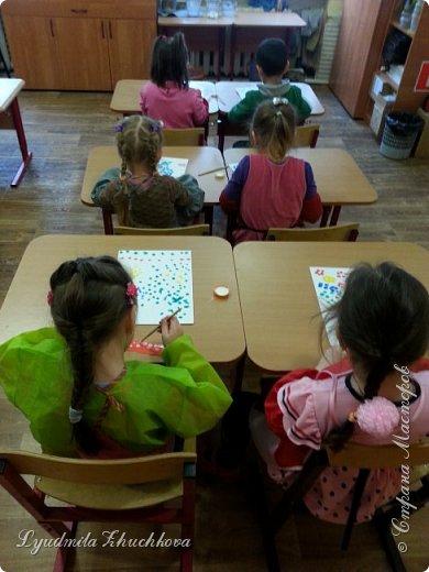 Такую картину сделали дети 4-х лет в подарок на 23 февраля. фото 4