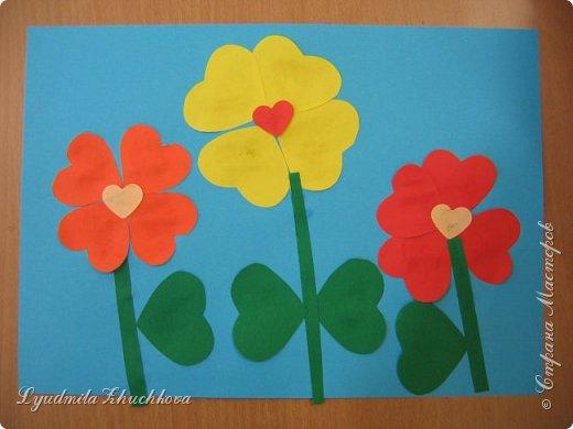 Сердечные цветочки фото 2