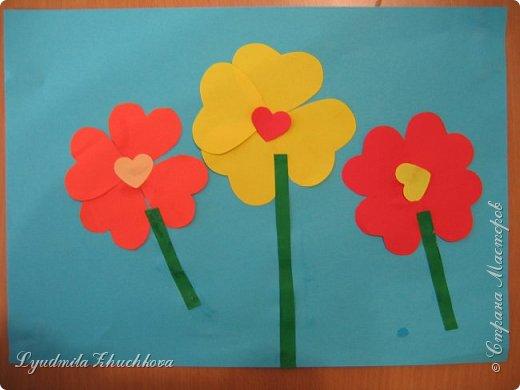 Сердечные цветочки фото 3