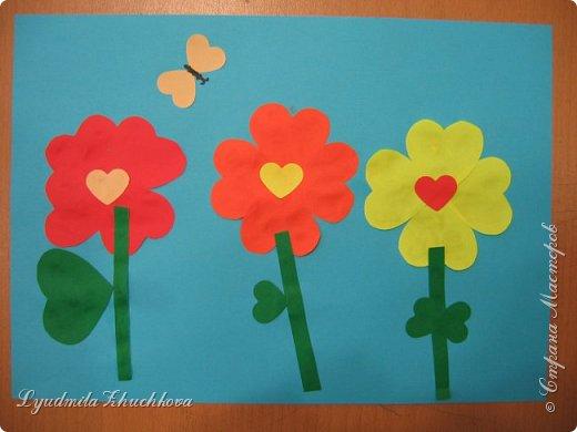 Сердечные цветочки фото 1