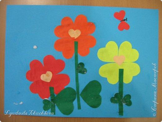 Сердечные цветочки фото 4