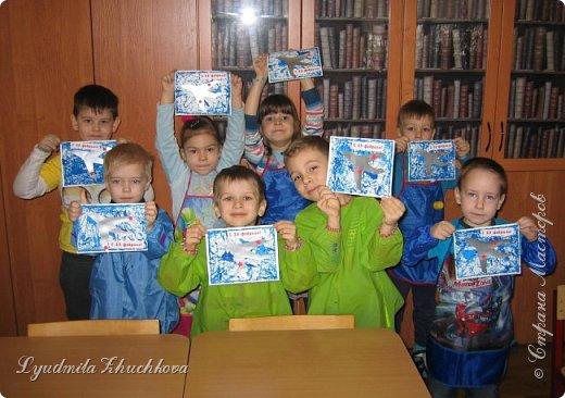 Эти открытки к празднику делали пятилетние дети. фото 6