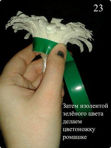 """Мастер класс """"РОМАШКА"""" фото 24"""