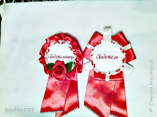 Значки для свидетелей - это замена традиционных лент для свидетелей на свадьбу. фото 4