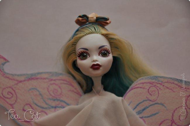 """Здравствуйте) Сегодня я хочу показать вам МК """"Ободок для кукол"""". Ободок делать очень просто и интересно. МК """"оформлен"""" на листах бумаги, иногда с картинами(дальше всё увидите). Мк по ободку уже есть, но каждый делает его по своему, вкладывает частичку своей души... Вот готовый результат: фото 13"""