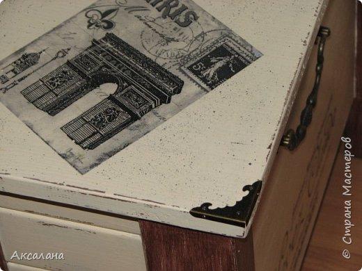 Вот такой у меня получился сундук, по совместительству журнальный столик. фото 6