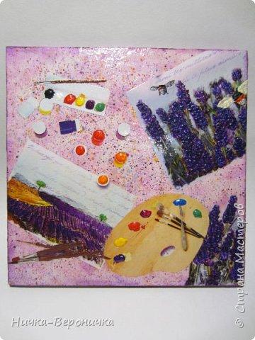 Панно в фиолетовых тонах фото 1