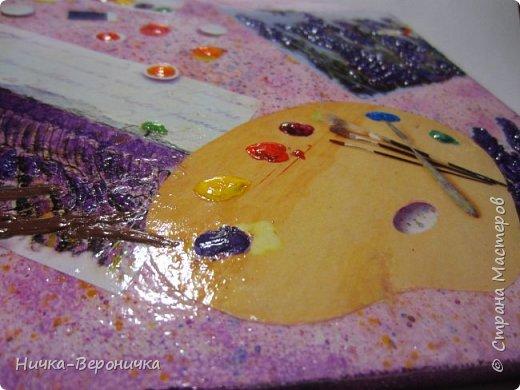 Панно в фиолетовых тонах фото 2