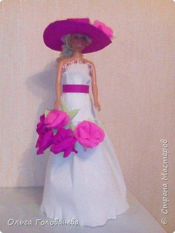 Кукольная одежда из бумаги фото 1