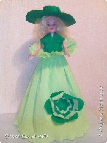 Кукольная одежда из бумаги фото 2