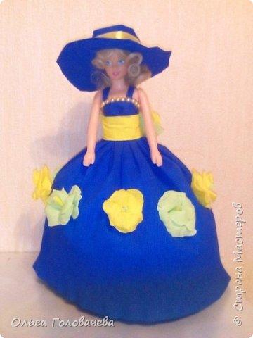 Кукольная одежда из бумаги фото 3