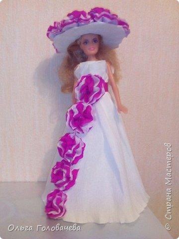 Кукольная одежда из бумаги фото 4