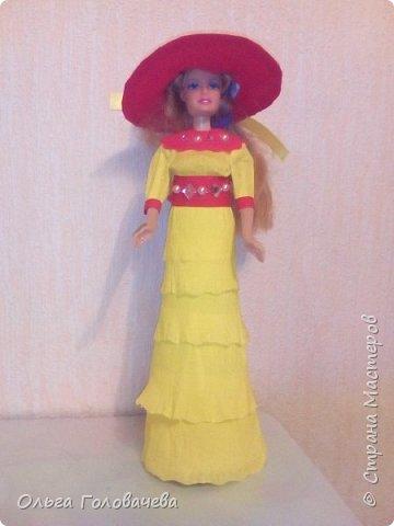 Кукольная одежда из бумаги фото 5