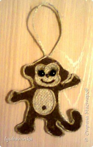 обезьянки-магнитики-подвески фото 2