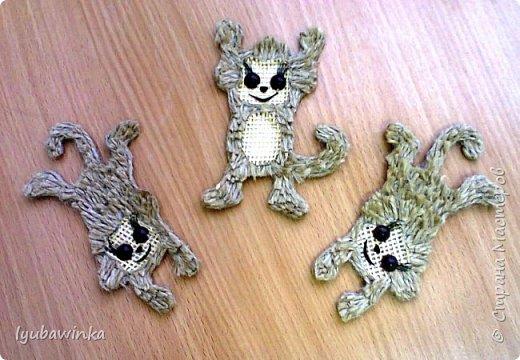 обезьянки-магнитики-подвески фото 1