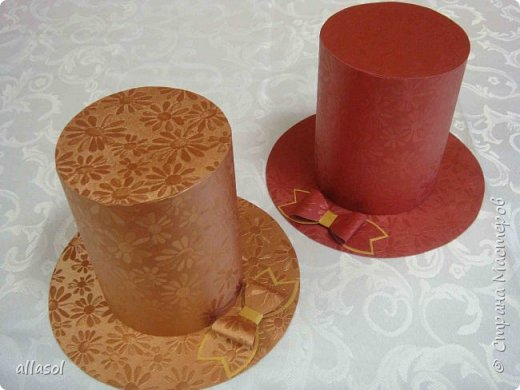 Шляпы- шкатулки фото 1