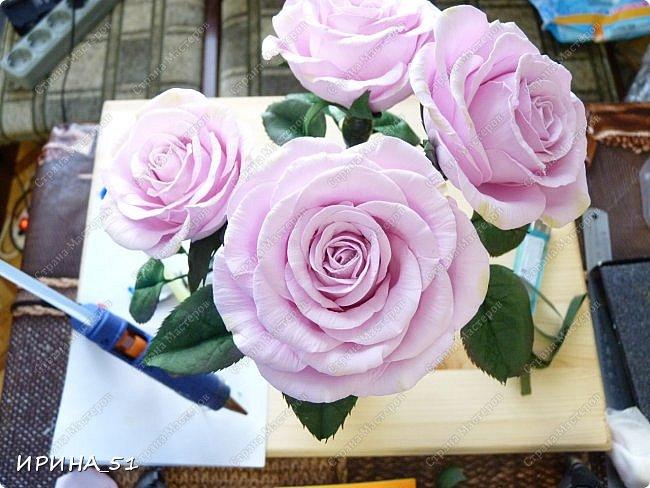 Здравствуйте! Приятно видеть Вас у себя в гостях. Сегодня у меня немного цветочков, так уже хочется весны и весеннего настроения.  Приглашаю к просмотру.  Веточка сакуры по Мк Натальи Вознюк.  фото 8