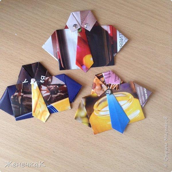 Вот такие оригинальнве открытки ко Дню Защитников Отечества сделала моя дочь! фото 2