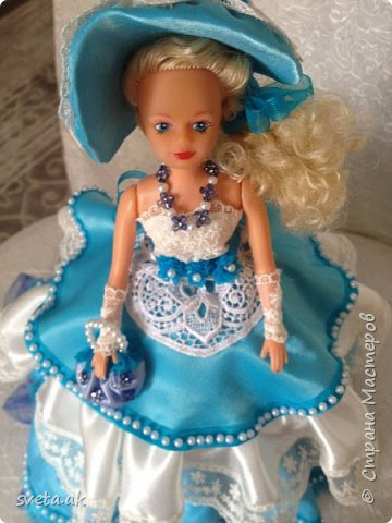 вот такая принцесса Розочка у меня получилась. фото 26