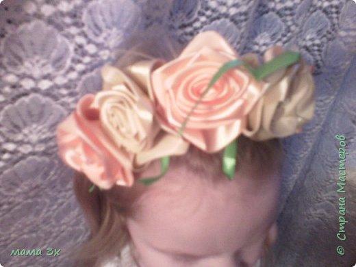 ободок с розами фото 9