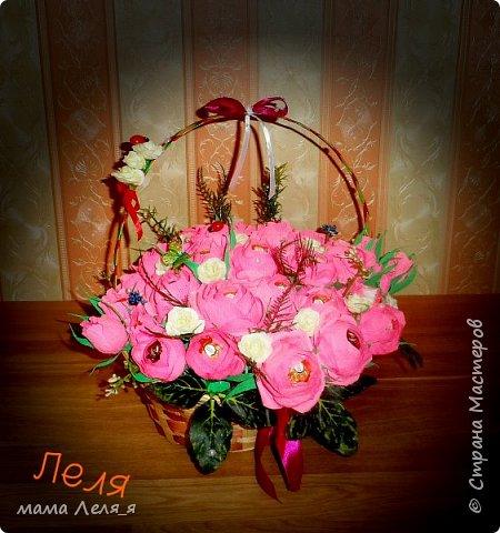первый букет..31 роза... фото 1