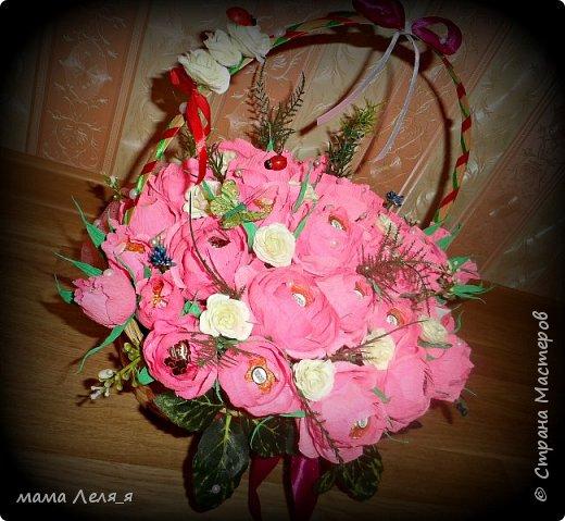 первый букет..31 роза... фото 2