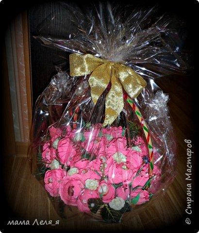 первый букет..31 роза... фото 4