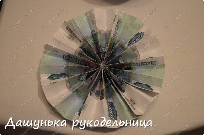 Вот такой денежный топиарий у меня получился)Честно говоря не знала,какую технику выбрать в разделах СМ фото 10