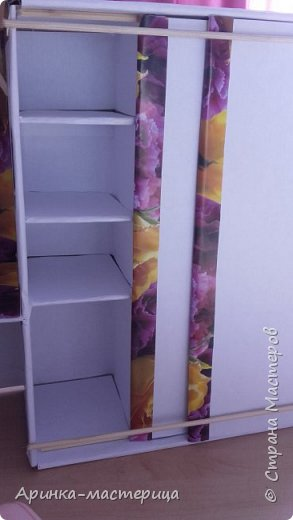 Хочу вам показать мой шкаф ) Делала я его пять часов! Но им очень довольна) фото 3
